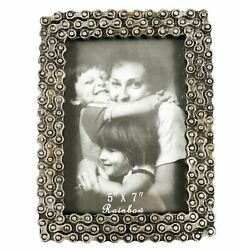 Urbalabs Born To Ride Motorcycle Biker Chain Picture Frame 5 X 7 Photo Frames