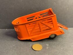 Vintage Tin Toy Horse Or Stock Trailer, Japan, License S-2023