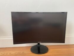 Samsung Lc24f390fhnxza 24 Inch Curved Led Monitor 60hz 1080p