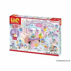 Laq Suite Collection Ice Cream Wagon Building Toys