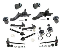 Front End Kit Toyota Sequoia Limited 4.7l Tie Rods Ends Ball Joints Bushings New