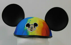 2004 Disney World Mickey Mouse Earhat Hippie Tie-dyed Color Pop Century Ears Hat