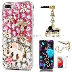 For Zte Quest 5 / Avid 579 Covers Bling Sparkly Crystals Diamonds Phone Cases