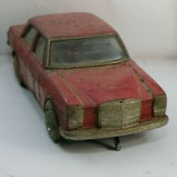 Vintage Mercedes-benz W114 / W115 Tin Toy Car Mostly Japanese Make, As Is