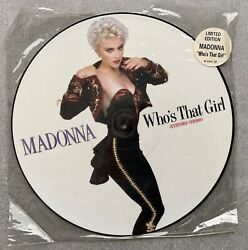 Madonna Whoandrsquos That Girl - Picture Disc Vinyl - Limited Edition - Very Rare