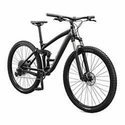 Mongoose Salvo Trail Mountain Bike 9-speed 29-inch Wheel Mens Small Black