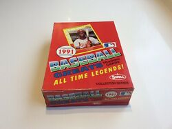 1991 Swell Baseball Greats Trading Cards Full Box Never Opened