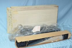 Nos 1959 Plymouth Dodge Convertible Top And Curtain Window Vintage Black Vinyl