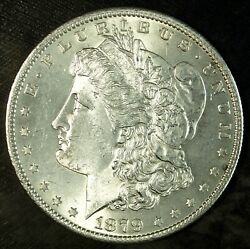 1879 S Morgan Silver Dollar ☆☆ Brilliant Uncirculated ☆☆ Great For Sets ☆☆ 140