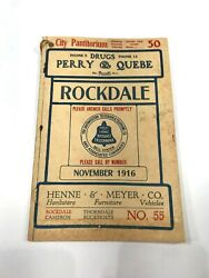 Rockdale Texas 1916 Telephone Book Phonebook Directory Free Shipping