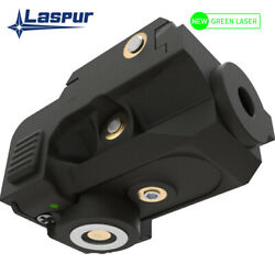 Laspur Sub Compact Rail Mount Green Dot Laser Sight Rechargeable Battery