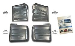 1958 Chevrolet Floor Pans Set Of 4 And Other Parts