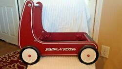 Vintage Toy Pull Wagon Walker By Radio Flyer