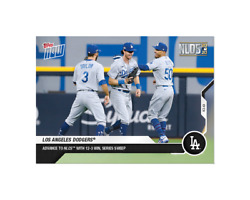 2020 Topps Now Nlds Los Angeles Dodgers 395 Sweep Only 265 Base Cards Made