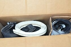 Nos 1959 Ford All And Edsel Corsair Convertible Top Curtain Vintage White Black