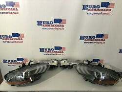 2018-19 Ford Mustang Front Headlights And Park Lamps Lh Rh Set Of 4