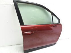 14 15 16 Subaru Forester Right Front Dooor Assembly Red H2q Oem  Has Scratches