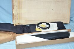 Nos 1957 1958 Dodge Plymouth Convertible Top And Rear Curtain Window Black Vinyl