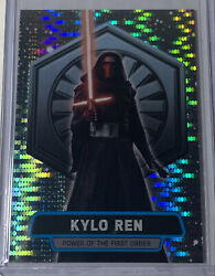2016 Topps Chrome Star Warspower Of First Order Kylo Ren Andrsquod 6/10 Prizm🔥rare🔥