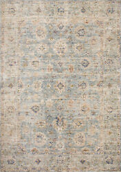 11and039 6 X 15and039 6 Loloi Rug Revere Light Blue Multi 100 Polyester Power Loomed