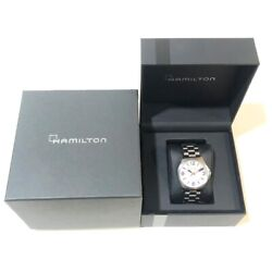Hamilton Khaki Air Race Red Bull H762250 Automatic Date Ss Silver 37mm With Box
