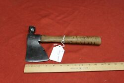 Vintage Stanley Hatchet Hammer Antique Cutting Logging Tool Carpenter Tools