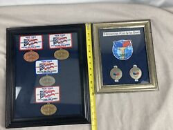 Police And Fire Games Medals And Patches Ny And Fl