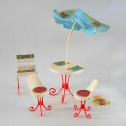 Barbie Play Pak Pepsi Patio Party Set 2316 Superstar Doll Furniture 1978 Flaw