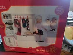 2020 Target Our Generation Wooden Wardrobe For Most 18 In Doll...3