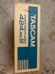 Tascam Portastudio 424 Mkiii 4 Track Cassette Recorder Sealed Boxed As Pictured