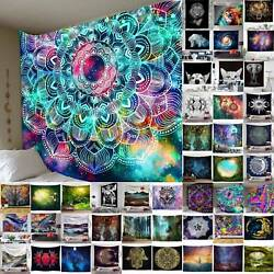 Boho Blanket Tapestry Wall Hanging Mandala Hippie Bedspread Throw Home Mat Decor