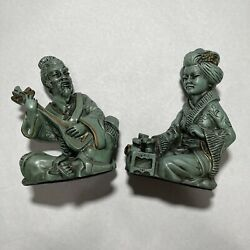 Vintage 1961 Universal Statuary Chicago Corp 22 Asian Sculpture Figurines