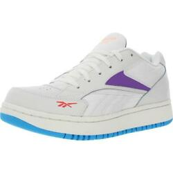 Reebok Womens Court Double Mix Leather Fitness Tennis Shoes Sneakers Bhfo 6978