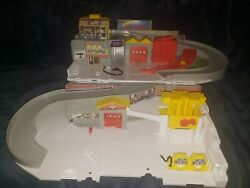 Hot Wheels Car Wash And Service Station Center Playset Dmw90 Mattel 2015 Toy