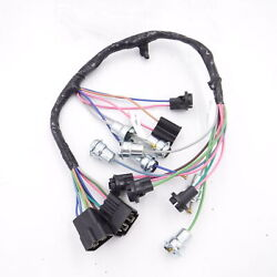 1964-1966 Chevy Pick Up Truck Dash Instrument Cluster Wiring Harness W/ Warning