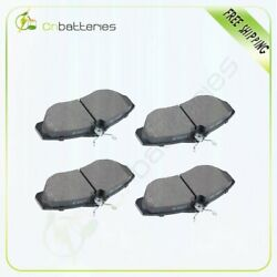 4x Ceramic Brake Pads Front For 2000-04 Land Rover Discovery 1996-02 Range Rover