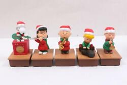 2011 Hallmark Peanuts Gang Wireless Christmas Band New Without Tags Set Of 5