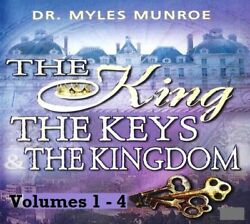 The King The Keys And The Kingdom - Vol 1-4 16 Dvds Myles Munroe Great Condt