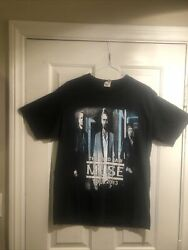 Muse The 2nd Law Tour 2013 Medium T- Shirt Rock