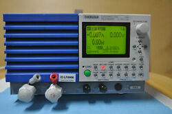 Kikusui Plz164w Electronic Load Powers On, No Other Tests