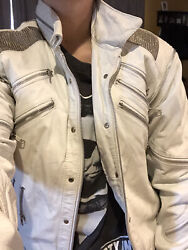Rare 1980s Michael Jackson Beat It Leather Jacket. By Metal