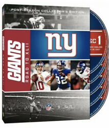 Nfl New York Giants-road To Super Bowl Xlii 42 4x [dvd] New