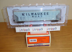Lionel 6-84125 Milwaukee Road Ps-2cd Covered Grain Hopper O Scale Toy Train Car