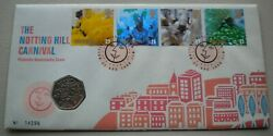 1998 The Notting Hill Carnival 1998 50p Coin Cover Pnc,stamps, Postmarks And Info