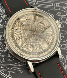 Lecoultre Helical Hairspring Balance Pocket Watch Movement In New Marriage Case