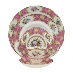Royal Albert Lady Carlyle 5pc Place Setting