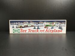 Hess 2002 Toy Truck And Airplane Mint In Box Never Used