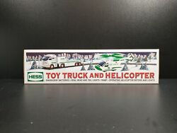 Hess 2006 Toy Truck And Helicopter Mint In Box Ne Mint In Box Never Used