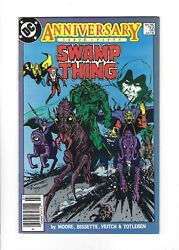 Swamp Thing 50 1st Justice League Dark, Hbo Show, Newsstand 9.2 Nm-, Dc