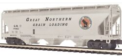 ✅mth Premier Great Northern 3 Bay Centerflow Covered Hopper Car 20-97595 O Scale